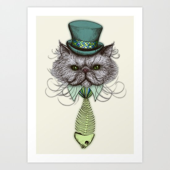 Not Your Average Cat Art Print