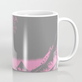 The Great Wave Pink & Gray Coffee Mug