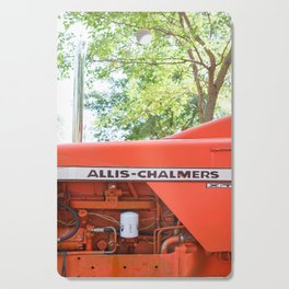 Allis - Chalmers Vintage Tractor Cutting Board