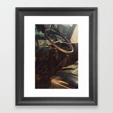 Driver's Seat Framed Art Print