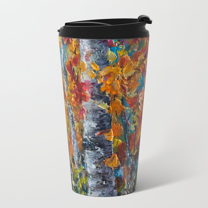Aspen Trees - 1 Metal Travel Mug