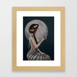 Goddess Persephone Framed Art Print