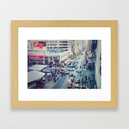 Rushed Framed Art Print