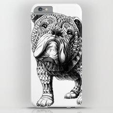 English Bulldog iPhone 6s Plus Slim Case