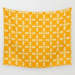 Arrowmatic Orange Wall Tapestry