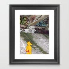 LORD QUAS. Framed Art Print
