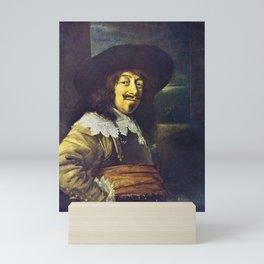Portrait of an Officer by Frans Hals Mini Art Print