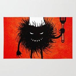 Evil Bug Chef Loves To Cook Rug