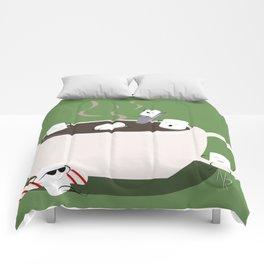 Marshmallow Hot Tub Comforters