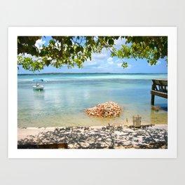 Conch Shells Art Print