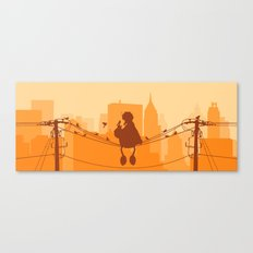 Too Big For The City Canvas Print
