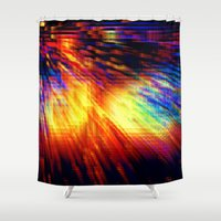storm Shower Curtains featuring Storm by 2sweet4words Designs