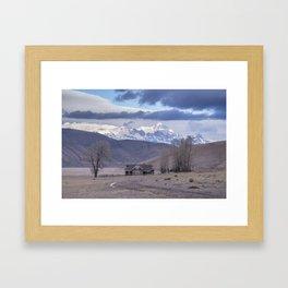 Miller Cabin Framed Art Print