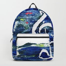 G clef or the sun key Backpack