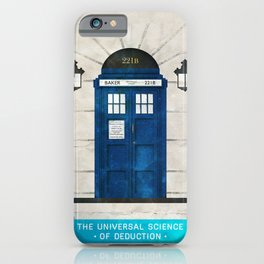 Doctor Who & Sherlock iPhone Case