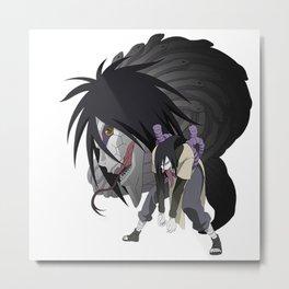 Naruto Orochimaru Metal Print