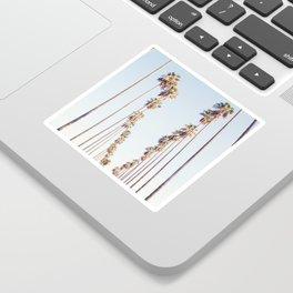 Palm tree stripes Sticker