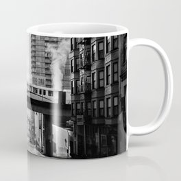 Morning Train BW Coffee Mug