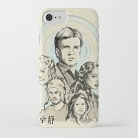 firefly iPhone & iPod Cases featuring Firefly by Miki Price