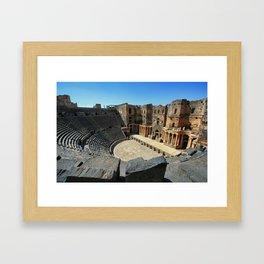 The Hidden Theatre   Framed Art Print