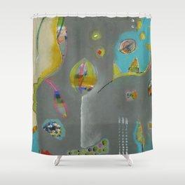 Bee Sassy Shower Curtain
