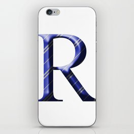 R for Ravenclaw iPhone Skin