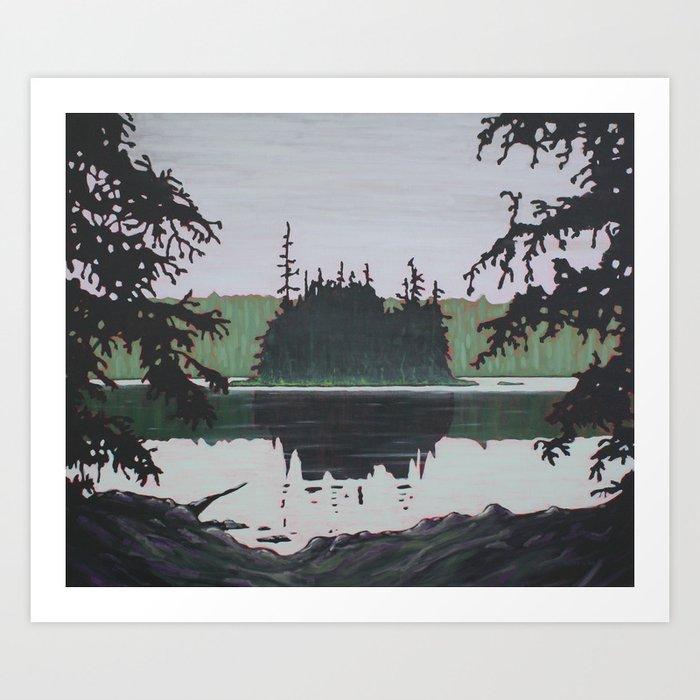 Ouse Lake, Algonquin Park Art Print