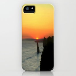 Sunsetting over the Great Southern Ocean iPhone Case