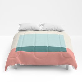 Blue Square Comforters