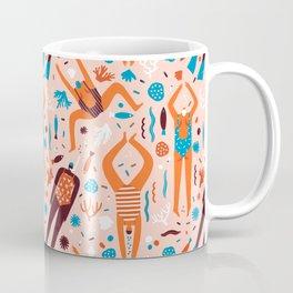 Swimmers in pink Coffee Mug