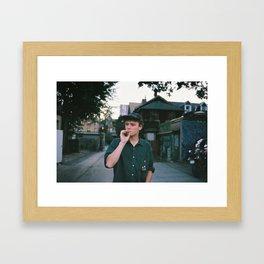 Mac Demarco Framed Art Print