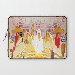 Seville Hispano American Expo 1929 art deco ad Laptop Sleeve
