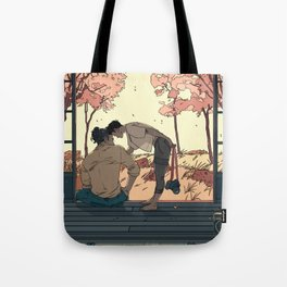 Summer Home Tote Bag