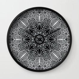 Mehndi Ethnic Style G412 Wall Clock