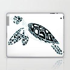 Calligram Sea Turtle Laptop & iPad Skin