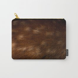 Deer Fur Carry-All Pouch
