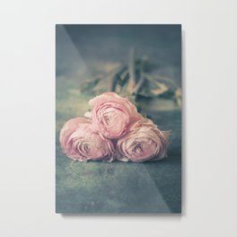 Lovely Ranunculus Metal Print