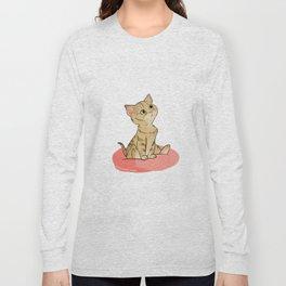 Spooky the Cat Long Sleeve T-shirt