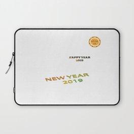 happy year 2019 Laptop Sleeve
