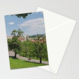 La Vista dalla Collina di Petřín II Stationery Cards