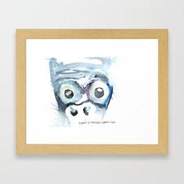 Planet of the Apes, Screw Kobo Framed Art Print