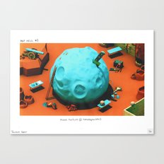 POP HELL #3 Canvas Print