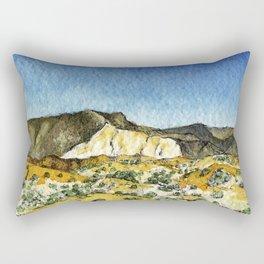 Dunes & and the Mountains Rectangular Pillow