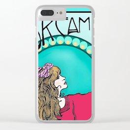 Stevie Art Nouveau Clear iPhone Case