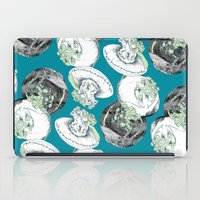 jelly fish iPad Cases featuring Jelly Fish by Eleanor V R Smith