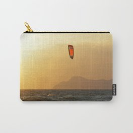 kite surfer in the mediterranean Carry-All Pouch