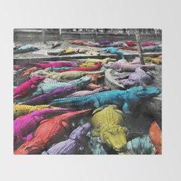 Reptilia Throw Blanket