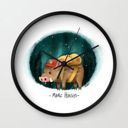 Marc Hassin Wall Clock