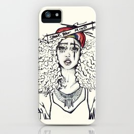 #STUKGIRL SKY iPhone Case