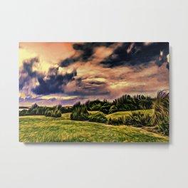 Rimrose Valley (Digital Art Painting) Metal Print